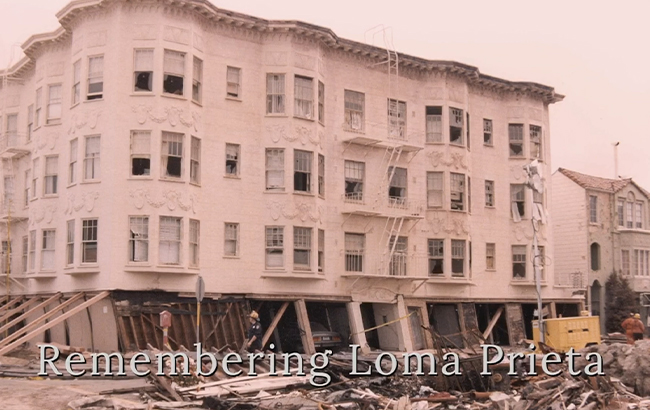 ctober 17, 2019 marked the 30th anniversary of the devastating 1989 Loma Prieta earthquake.